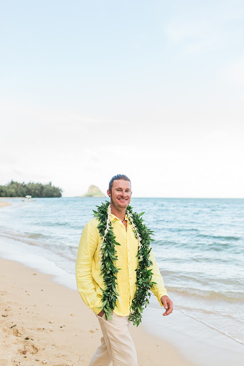 destination wedding private oahu beach 2013