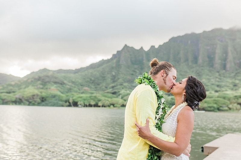 destination wedding private oahu beach 2015
