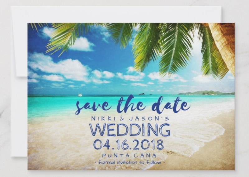 When To Send Out Wedding Invitations For Destination Wedding: Destination Wedding Invitation Etiquette