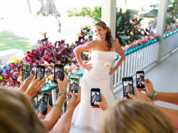 destination wedding social media etiquette