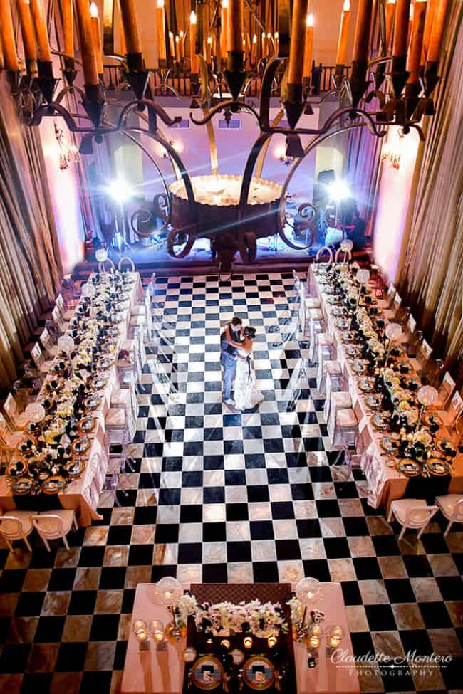 destination weddings in Puerto Rico-El Convento ballroom
