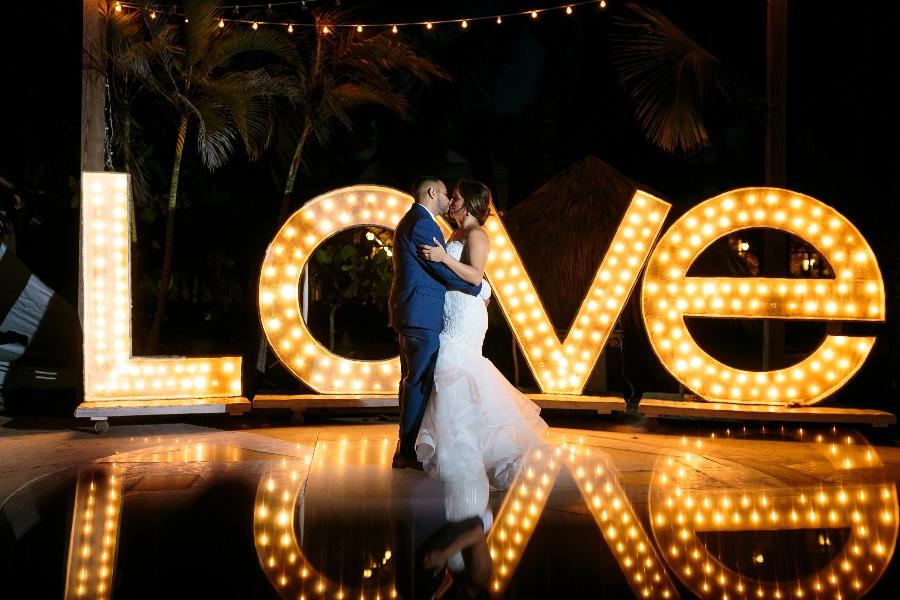 dominican republic wedding in private venue kukua