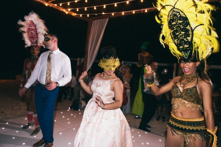 dominican wedding traditions - merengue