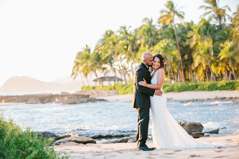 Beach Wedding Ceremony Oahu: Gorgeous And Intimate Destination Wedding At Four Seasons