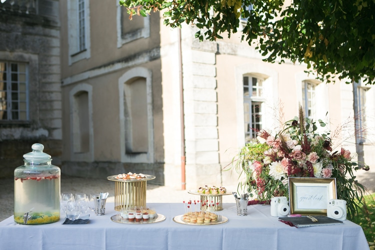 french chateau wedding 55