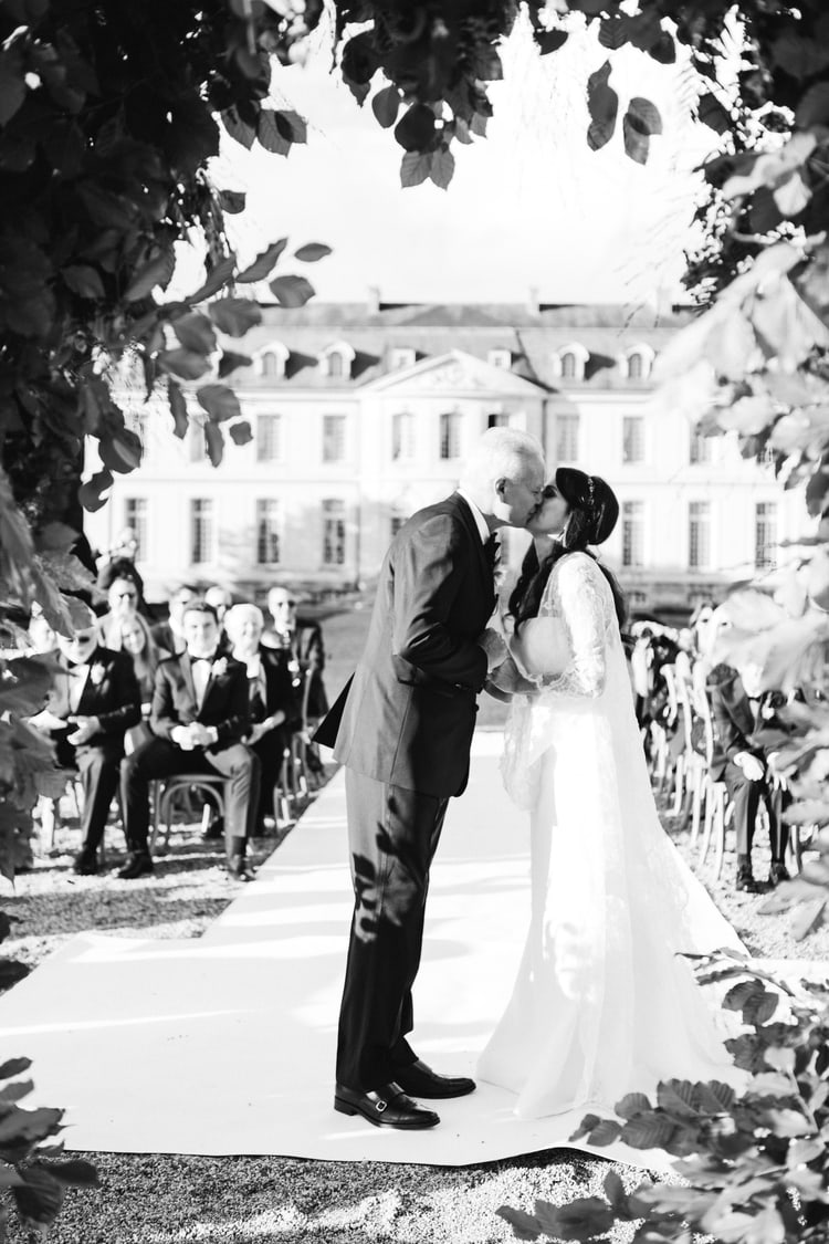 A Sophisticated and Stately French Chateau Wedding | Destination ...