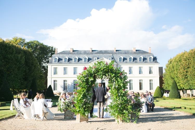 french chateau wedding 65