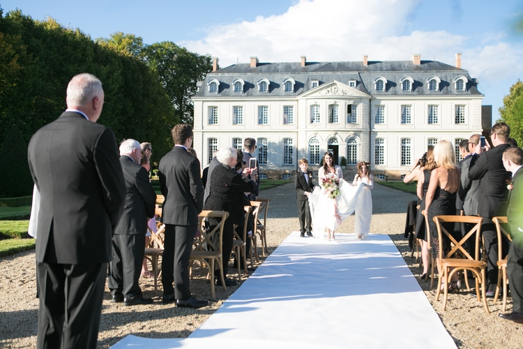 french chateau wedding 69