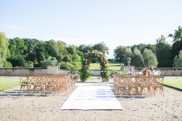 french chateau wedding 75