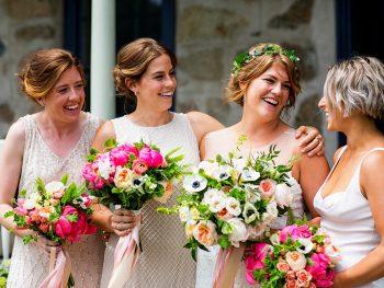 A Garden Destination Wedding in Rhode Island