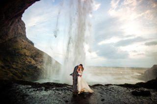 Scenic Elopement Wedding in Iceland