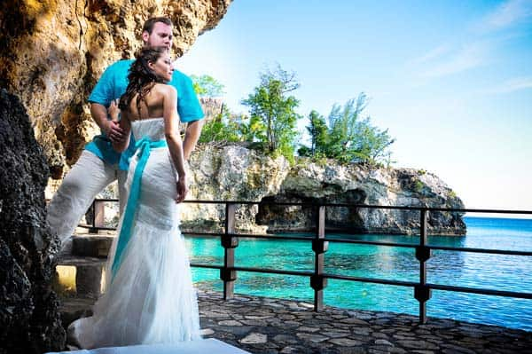 getting married in Jamaica - villas sur mer