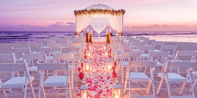 getting married in Jamaica Half Moon