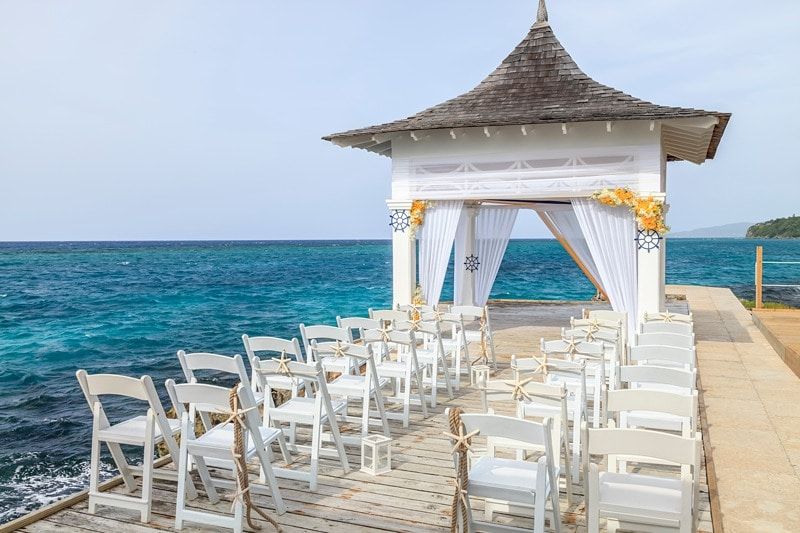 getting married in Jamaica Couples Tower Isle