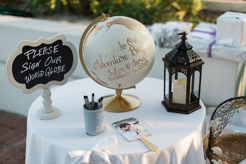 globe destination wedding guest book alternative 2