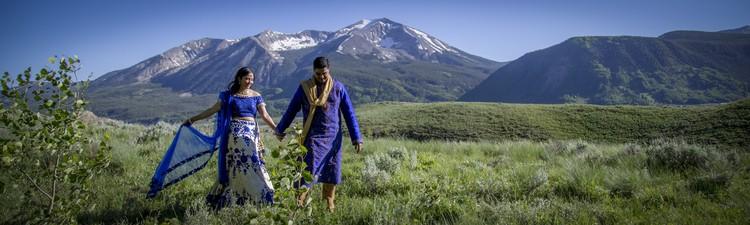 indian wedding in colorado mountains 103