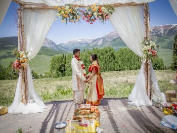 An Indian Destination Wedding at 9,000 Feet Among the Rocky Mountains