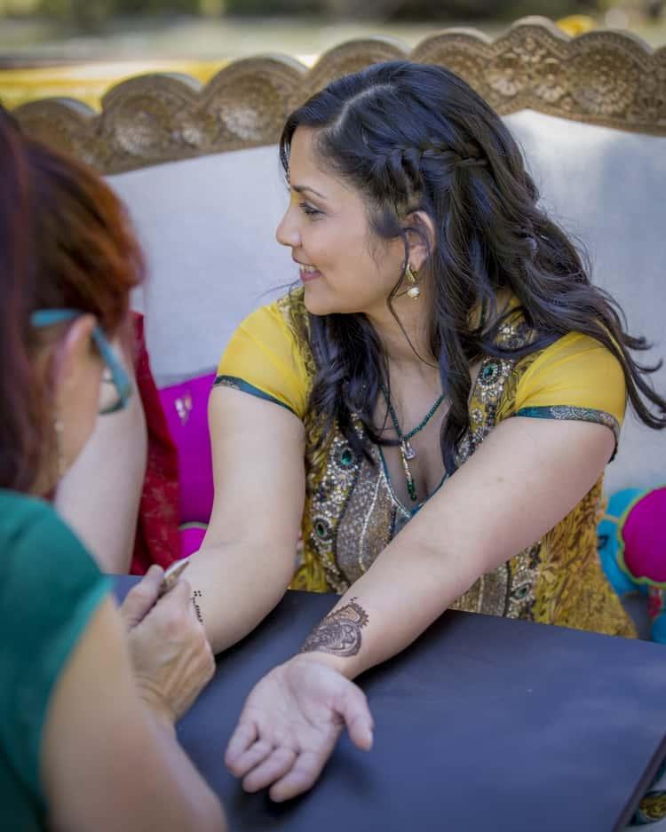 indian wedding in colorado mountains 129