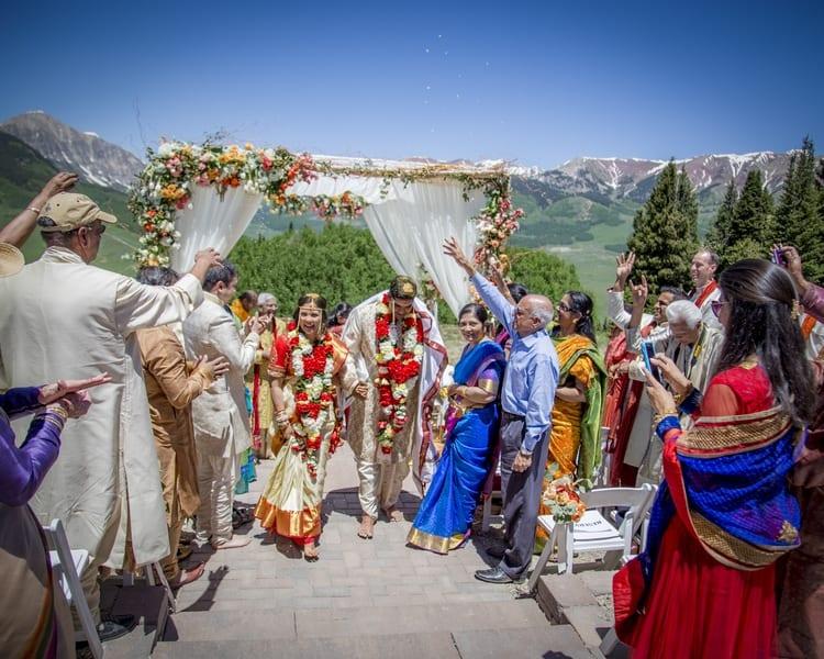 indian wedding in colorado mountains 13