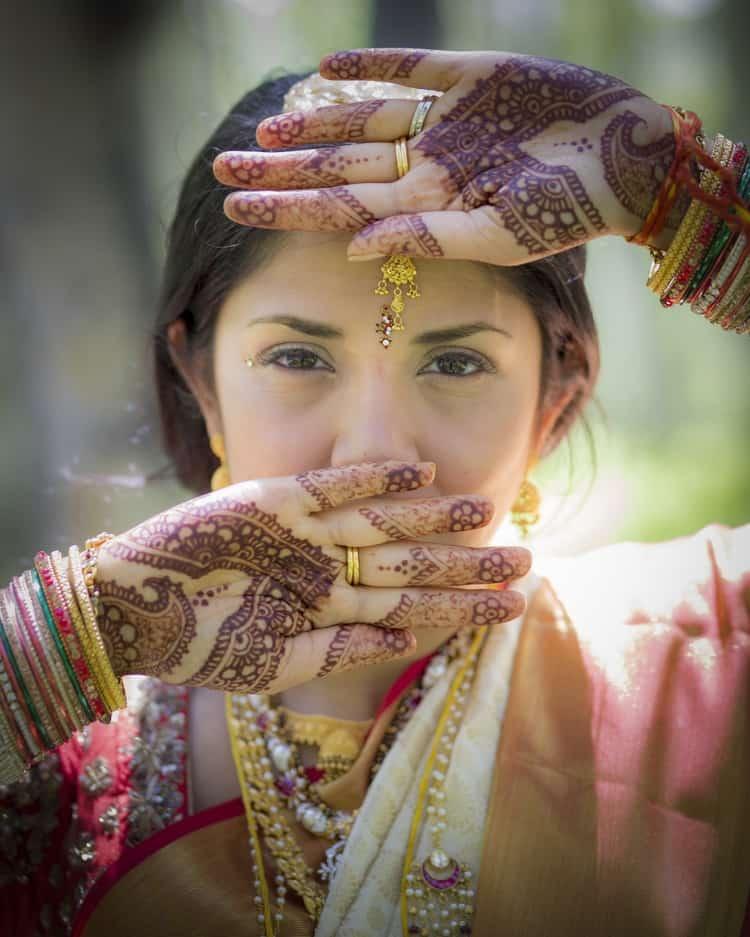 indian wedding in colorado mountains 2