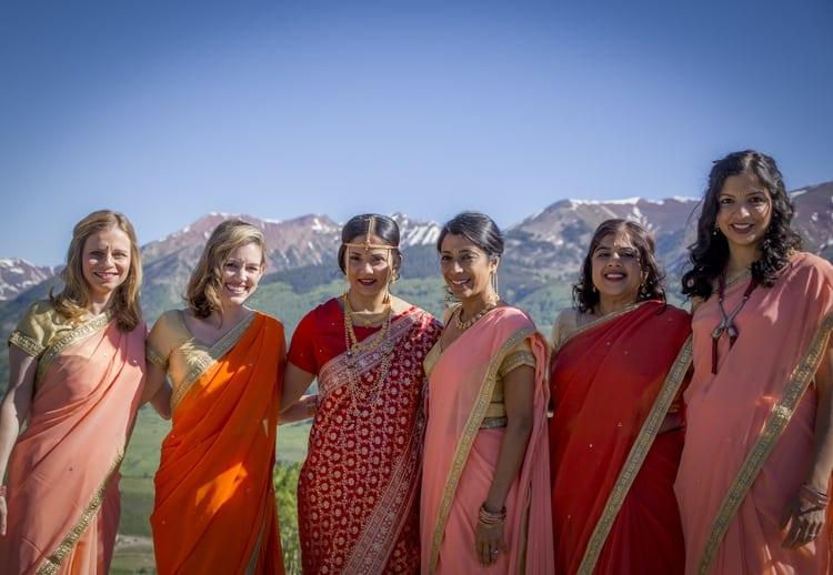 indian wedding in colorado mountains 71