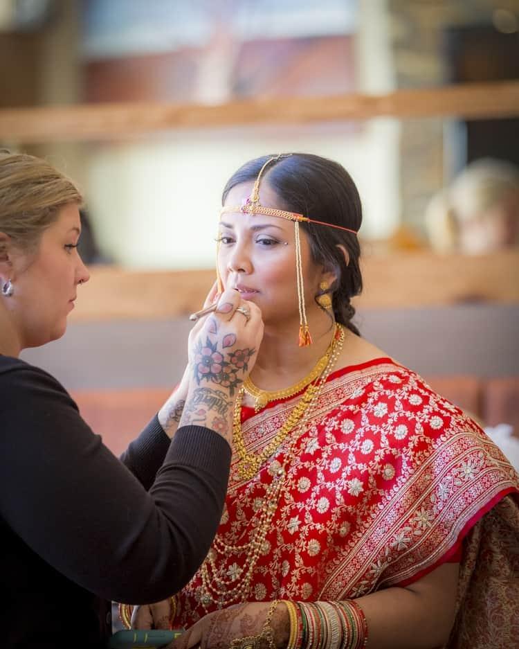 indian wedding in colorado mountains 85