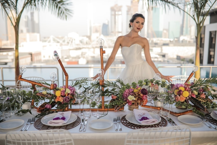 industrial wedding in dubai 15