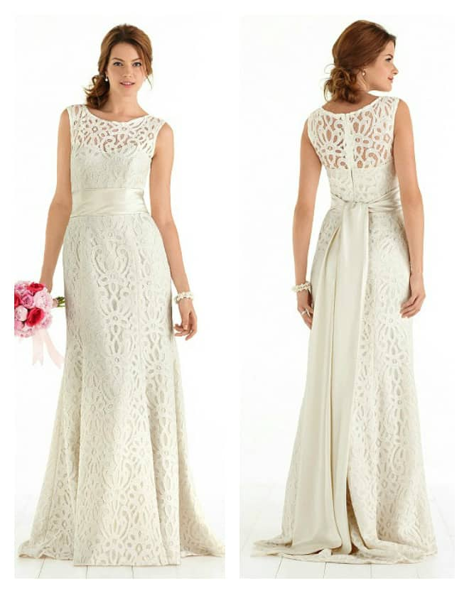 informal beach wedding dresses AS 1041