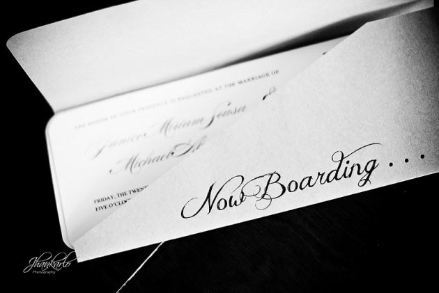 wedding in riviera maya invitation