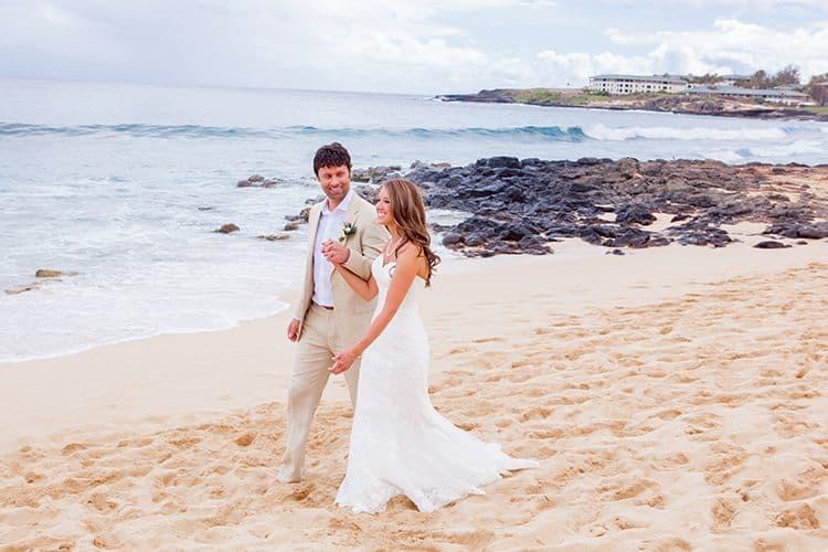wedding in Kauai