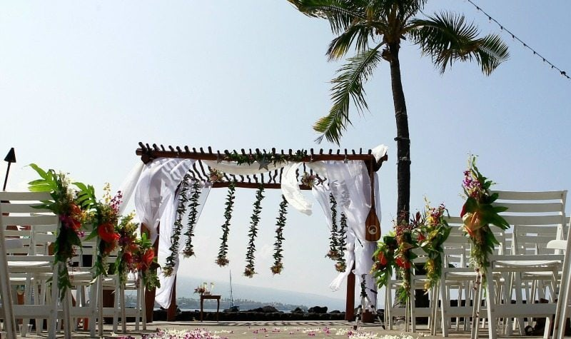 kona hotel wedding