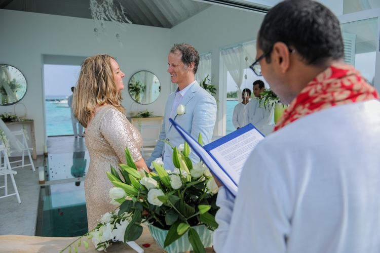 maldives wedding vow renewal 110