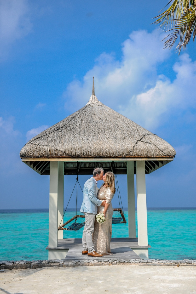 maldives wedding vow renewal 138