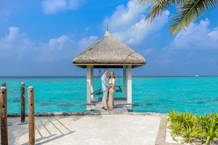 maldives wedding vow renewal 144