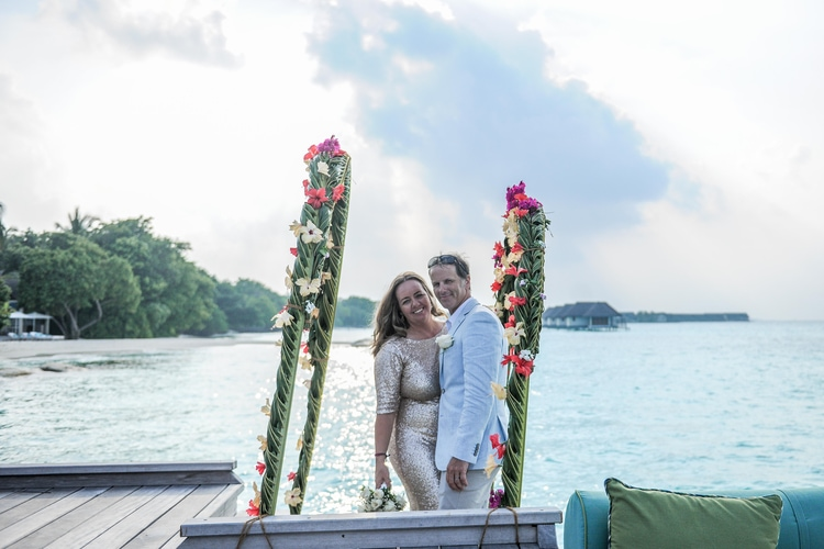 maldives wedding vow renewal 38