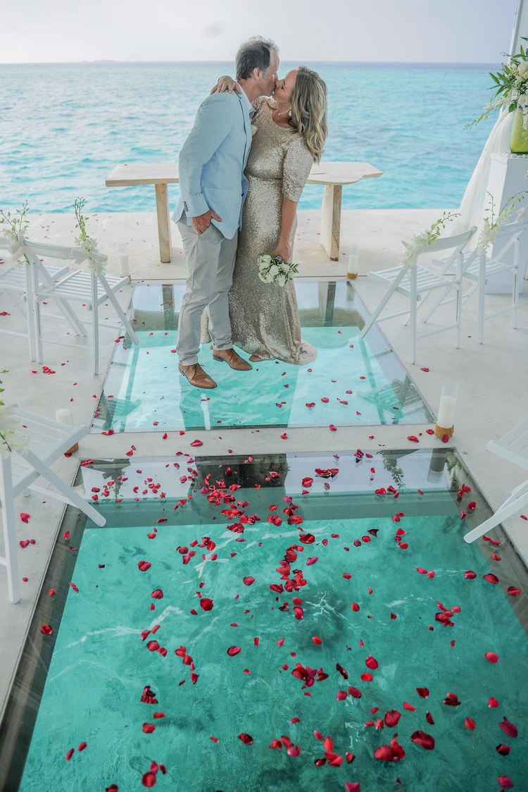maldives wedding vow renewal 61
