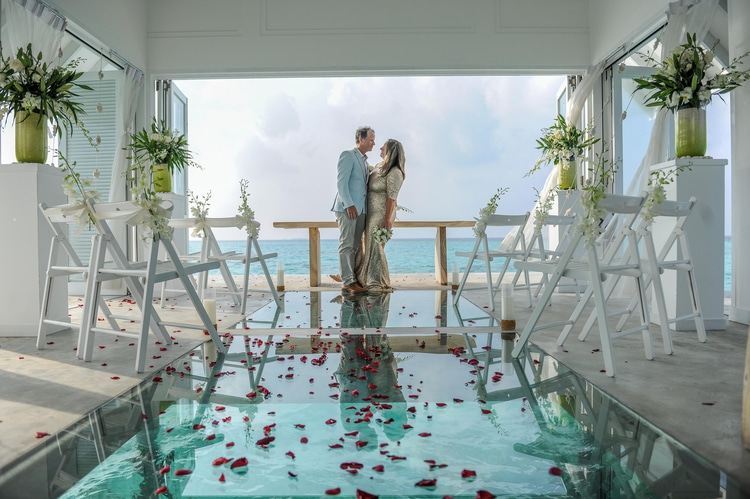 maldives wedding vow renewal 70