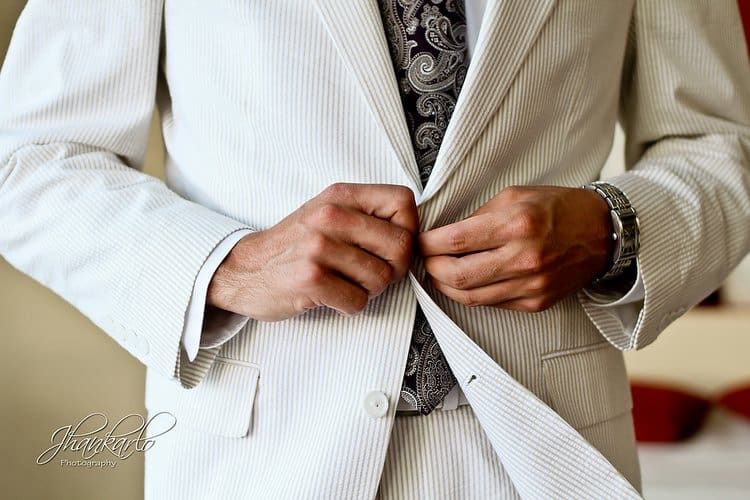 00d64d3a1b Men's Beach Wedding Attire Tips - Destination Wedding Details