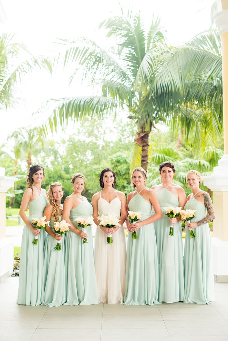 mint green destination wedding 31