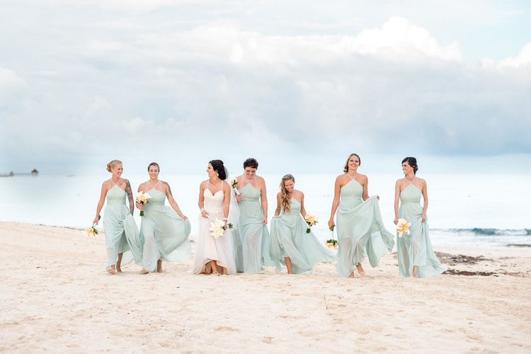 mint green destination wedding 72