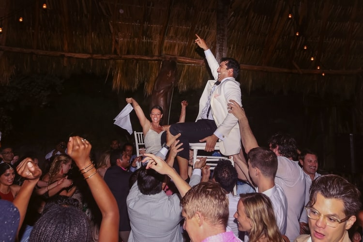 multi cultural beach wedding 10
