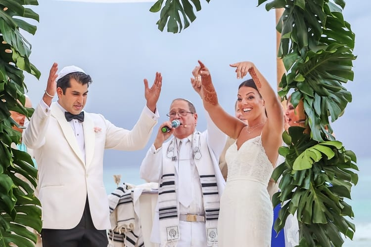 multi cultural beach wedding 21