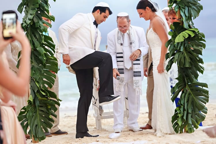 multi cultural beach wedding 23
