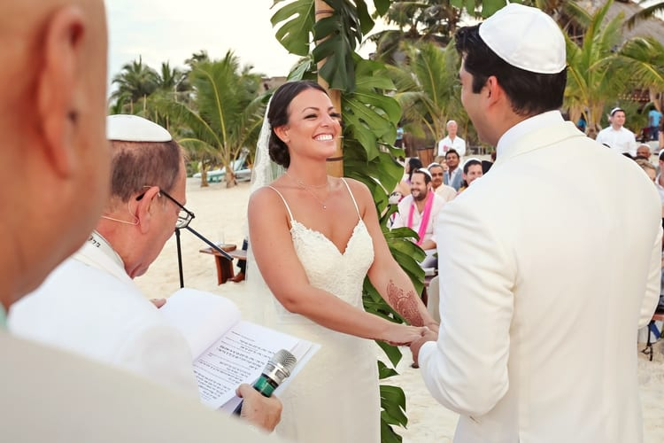 multi cultural beach wedding 29