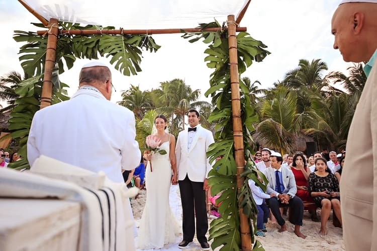 multi cultural beach wedding 36