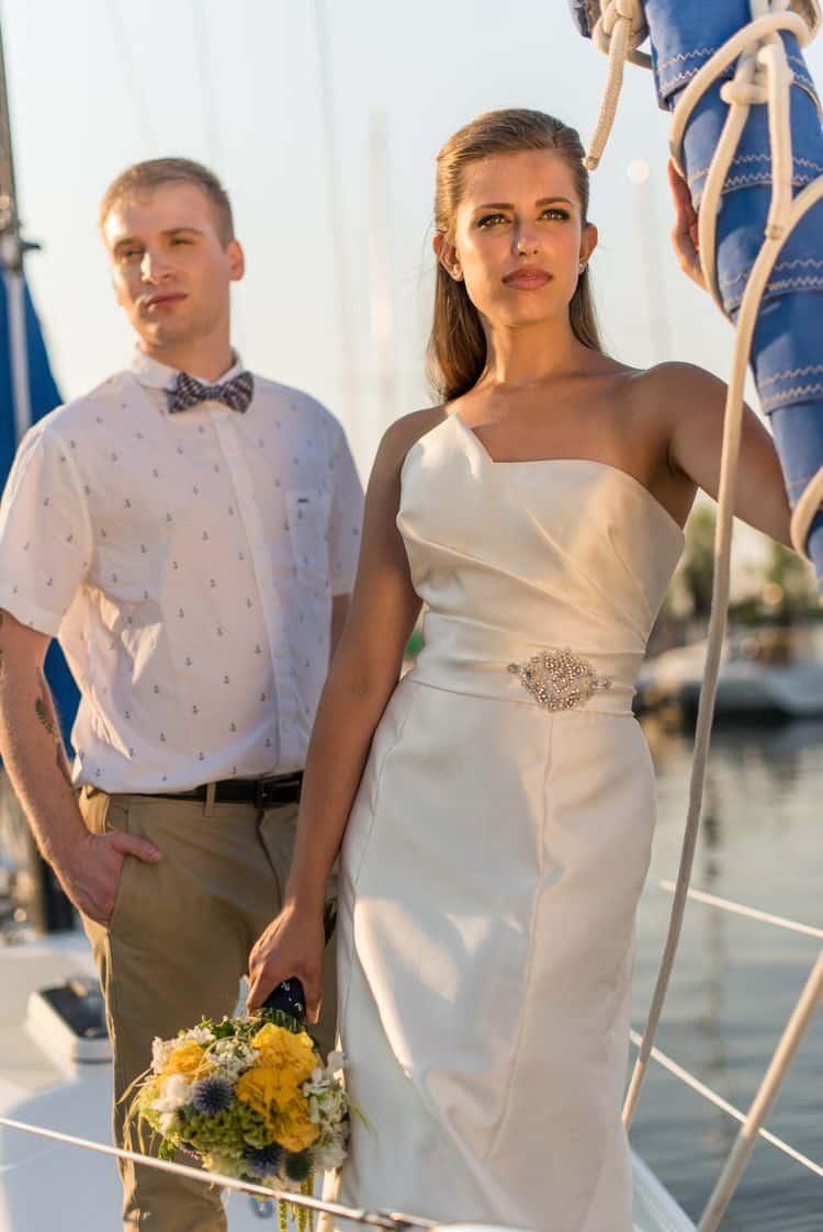 nautical destination wedding ideas16
