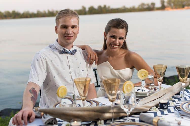 nautical destination wedding ideas5