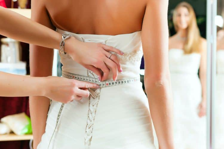 online wedding dress seamstress