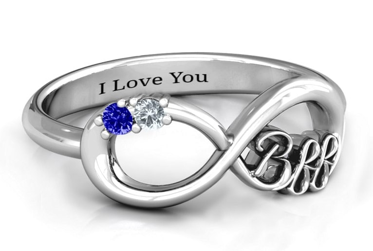 personalized maid of honor ring