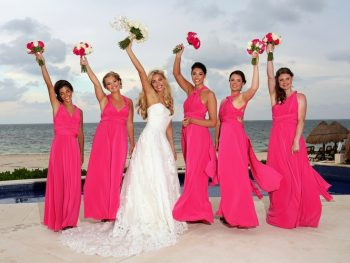 pink destination wedding dreams riviera cancun_47